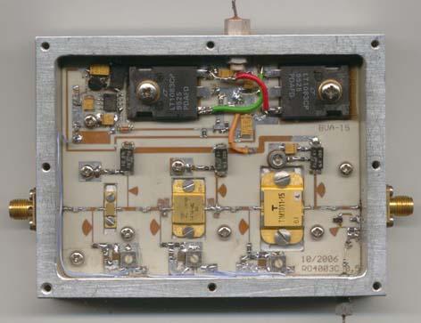 PA диапазона 10ГГц
